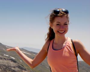 Winona State University fitness instructor Laura Rusnacko